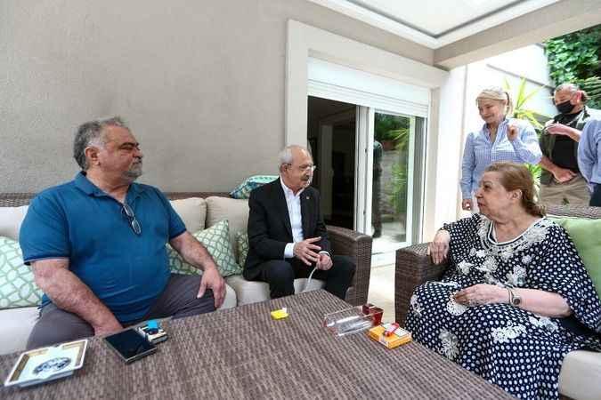 Kılıçdaroğlu'ndan Özal ailesine ziyaret