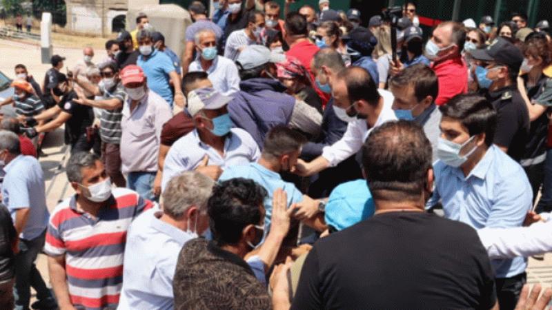 """Taş ocağı eylemi yapan köylüler: """"Köyümüzden AKP'ye yüzde 95 oy çıktı"""""""