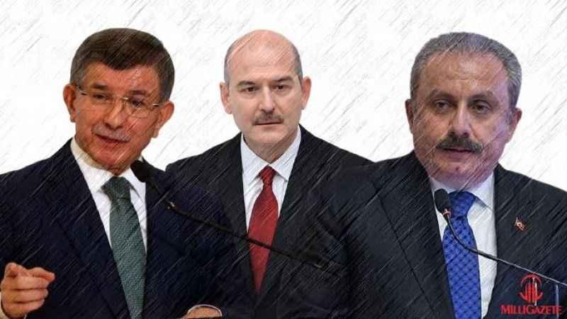 Davutoğlu: Şentop bana gelerek AK Parti içinde Soylu örgütleniyor dedi