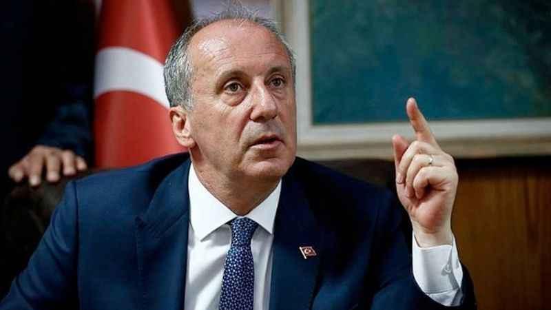 Muharrem İnce: AK Parti gelmesin diye CHP'ye oy veriyoruz diyorlar