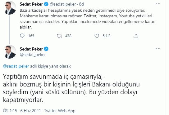 Mahkeme kararına rağmen Sedat Peker'e neden yasaklama gelmedi?