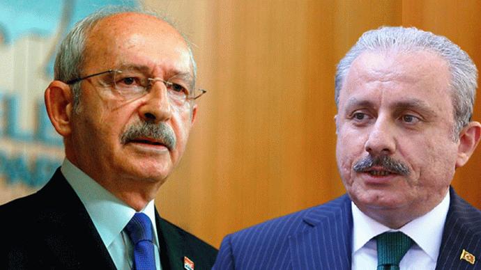 Kemal Kılıçdaroğlu'ndan Mustafa Şentop'a 'Erdoğan'a git' çağrısı