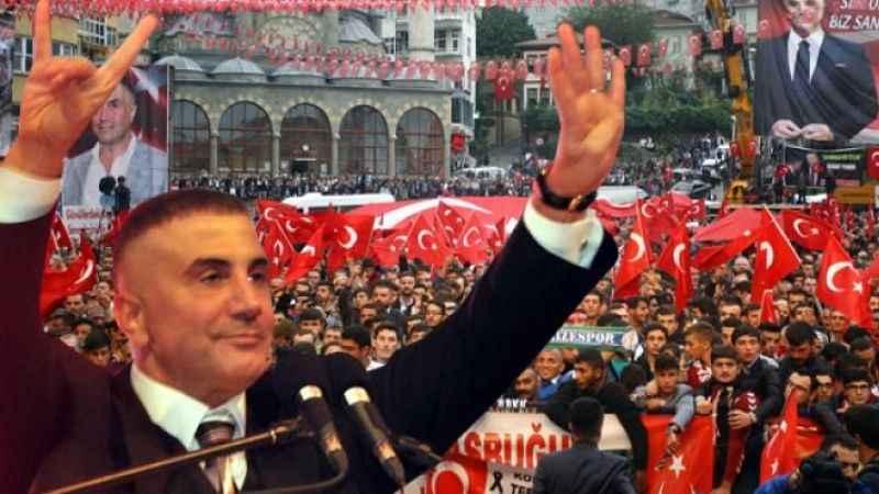 Sedat Peker'den, AKP'yi köşeye sıkıştıracak 'miting' açıklaması!