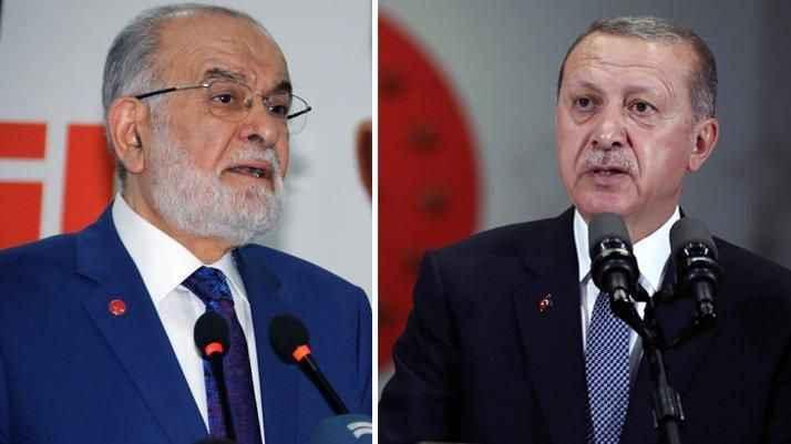 Karamollaoğlu'ndan Erdoğan'a tepki: Hicap duyuyorum