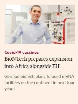 Uğur Şahin'den dikkat çeken hamle! BioNTech orada üretime geçiyor
