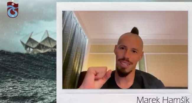 Marek Hamsik'ten transferi sonrası Trabzonspor'a mesaj