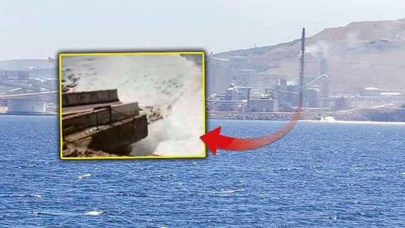 İşte Marmara Denizi'ni kirleten o dev fabrika