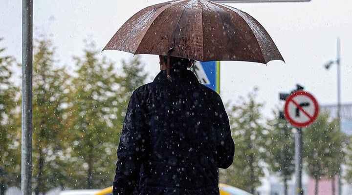 Meteoroloji'den bazı bölgelere yağış uyarısı