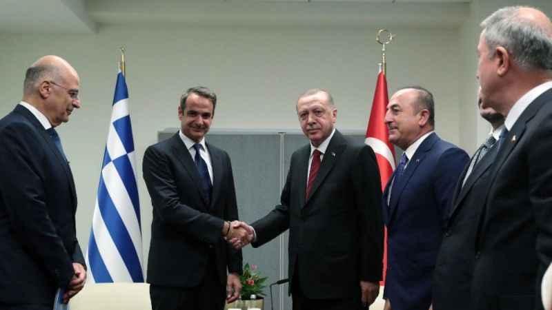 Miçotakis'ten Erdoğan ile görüşme öncesi pozitif gündem mesajı