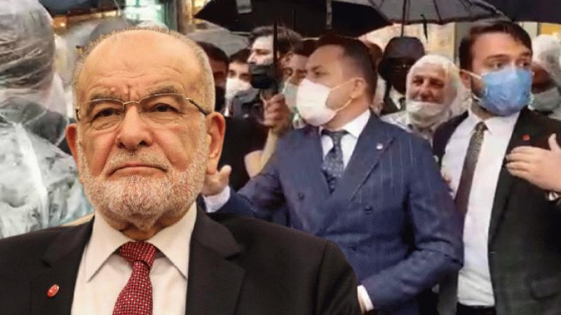 Karamollaoğlu'ndan Geçim İttifakı açıklamasına polis engeline tepki