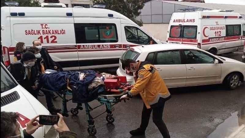 Zonguldak'ta kamyon ile motosiklet çarpıştı