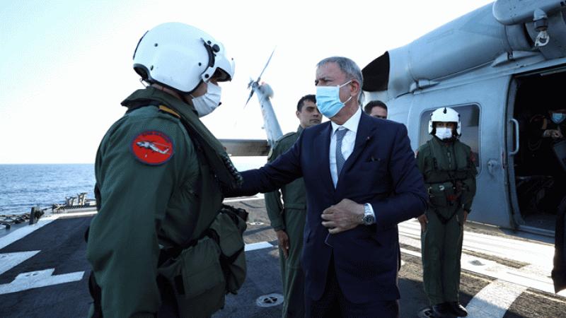 Bakan Hulusi Akar, NATO zirvesi sonrası Libya'ya geçti