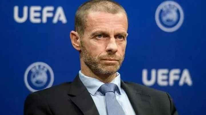 UEFA Başkanı Ceferin'den Eriksen açıklaması