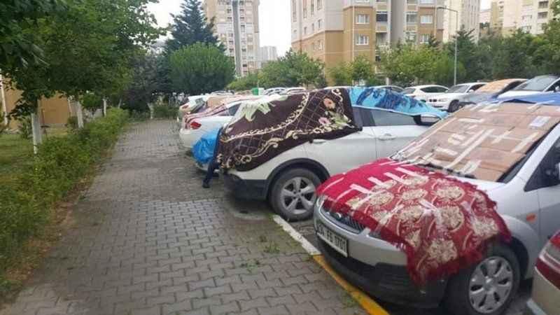 İstanbul'a Haziran ayında dolu yağdı! Meteoroloji'den kritik uyarı!