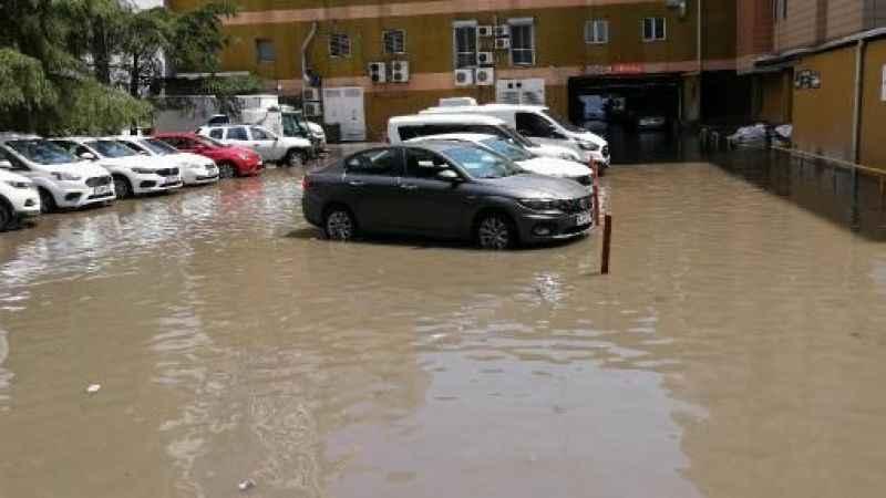 Kuyumcukent'i su bastı