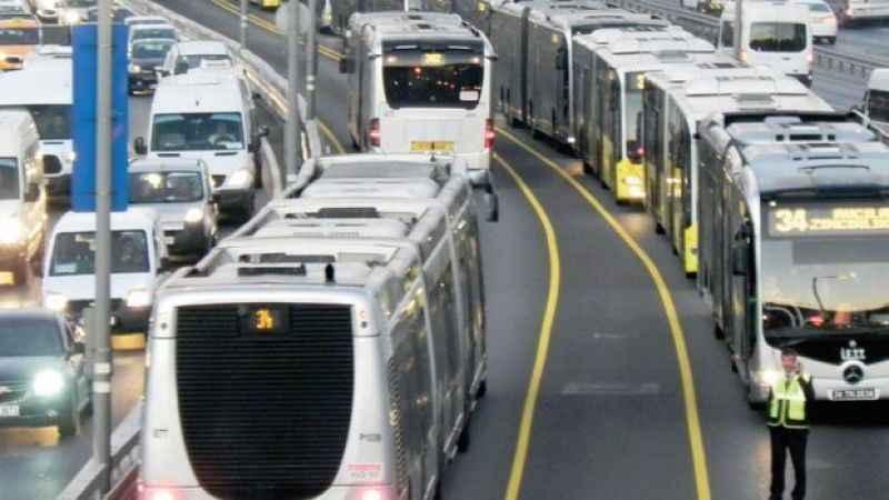 Metrobüs durakları ve güzergahı 2021
