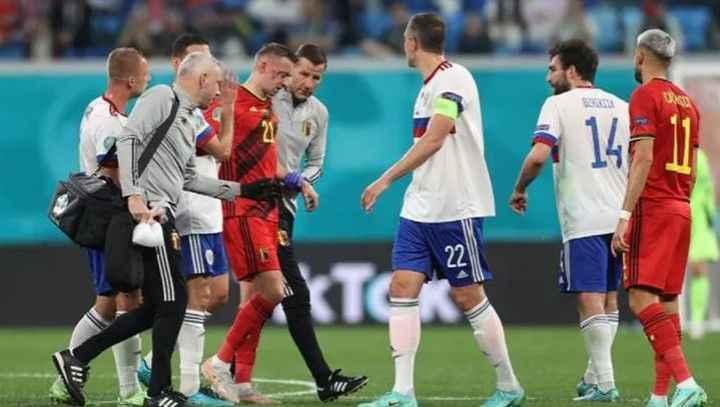 Belçika - Rusya maçında da talihsizlik!