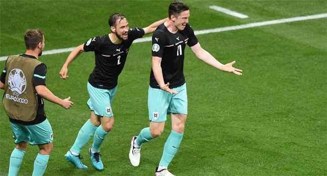 İlklerin maçında Kuzey Makedonya karşısında kazanan Avusturya