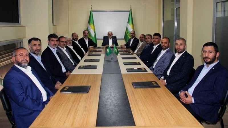 HÜDA PAR'ın yeni genel başkan yardımcıları belli oldu