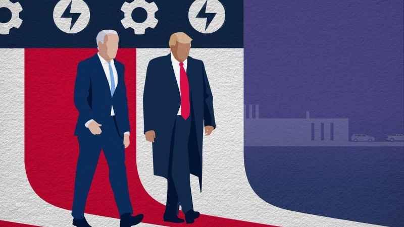 Trump sorusu Biden'i kızdırdı: Bir rahat verin