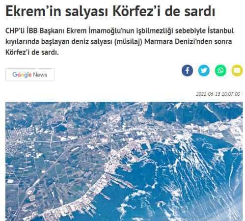 Yeni Akit'ten skandal bir Ekrem İmamoğlu haberi daha!