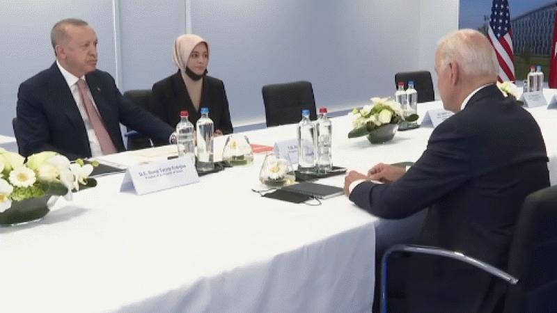 Biden görüşmesinde Erdoğan'ın yanında bulunan isim bakın kim çıktı?