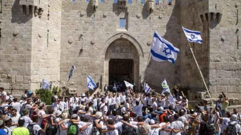 İşgalci Yahudilerden Peygambere hakaret, Filistinlilere ölüm sloganı! - Dış  haberler