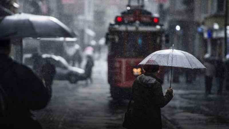 İstanbul'a hava durumu uyarısı! Sağanak yağış etkili olacak...