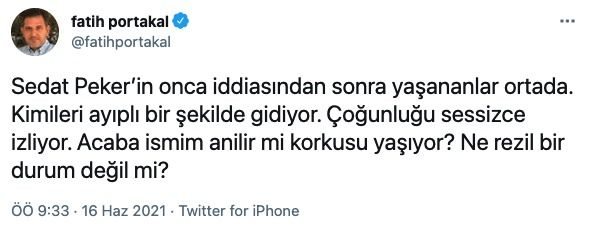 Fatih Portakal'dan flaş tespit! Erdoğan'ın Soylu kararı ne olacak?