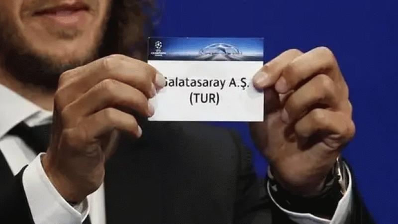 Galatasaray'ın rakibi bugün belli oluyor! İşte muhtemel rakipler...
