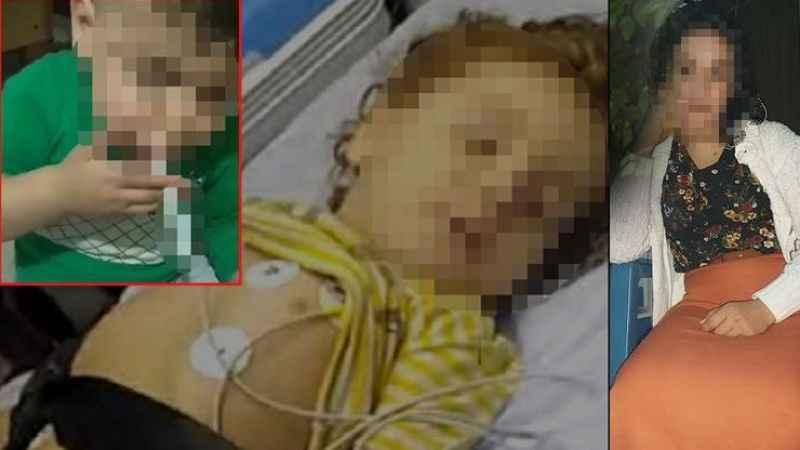 Canavar anne 3 yaşındaki oğlunu öldürmeye çalıştı! O anları kaydetti..