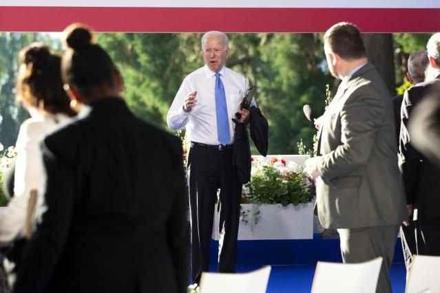 Putin'den sonra Biden öfke patlaması yaşadı! Üzerine yürüdü!