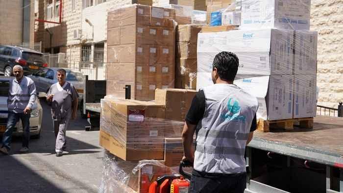 Mirasımız Derneği eliyle Kudüs'e ilaç ve tıbbi malzeme yardımı