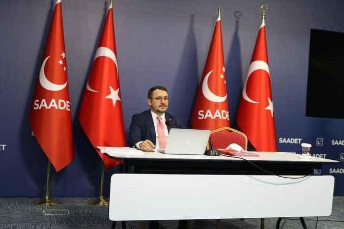 Saadet'e Ankara'da yine engelleme