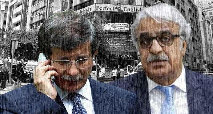 Ahmet Davutoğlu'ndan HDP'li Mithat Sancar'a taziye telefonu