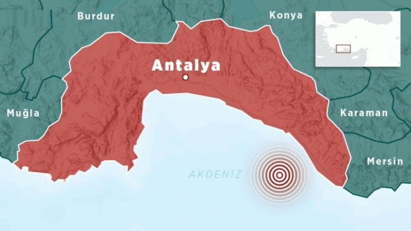 Son depremler! Antalya'da deprem oldu
