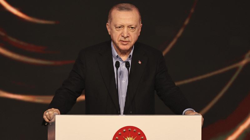 Erdoğan: Tedavüle konulan eksen tartışmaları hazımsızlığı işaretidir