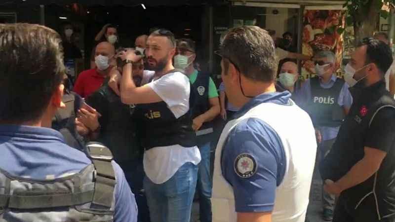 HDP İl Başkanlığı binasına giren Onur Gencer adliyeye sevk edildi