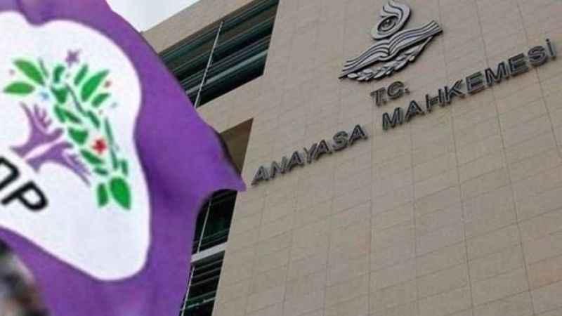 Son dakika... AYM'den HDP iddianamesi ile ilgili ilk karar