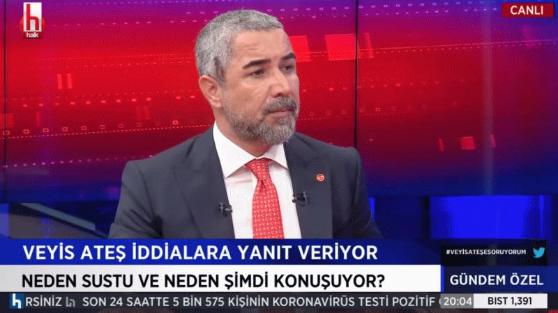 """Veyis Ateş: """"HDP'liler TV'ye çıkmamalı"""""""