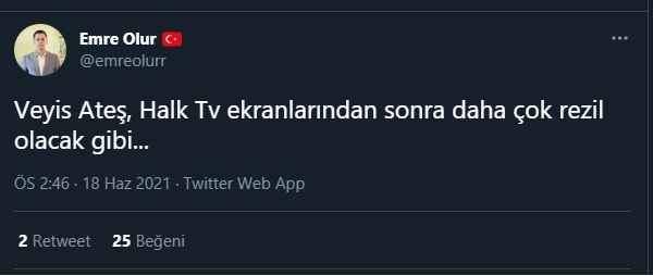 Veyis Ateş'in canlı yayın hamlesine Sedat Peker cephesinden ilk yorum