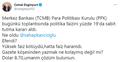 Cemal Enginyurt'tan Kavcıoğlu'na tepki: Dolar 8.70, umarım çözüm bulursun