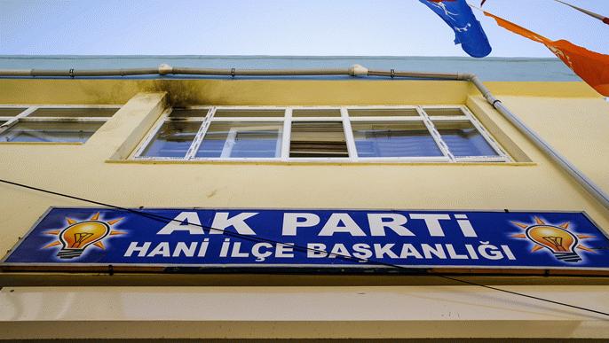 AK Parti Hani ilçe binasına saldıran, parti yöneticisinin yeğeni çıktı
