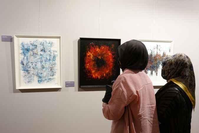 Fatih Ömeroğlu'nun 'ARA-YAN' sergisi sanatseverlerle buluştu