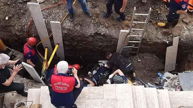 Yurt inşaatında göçük: Gönüllü astsubay hayatını kaybetti