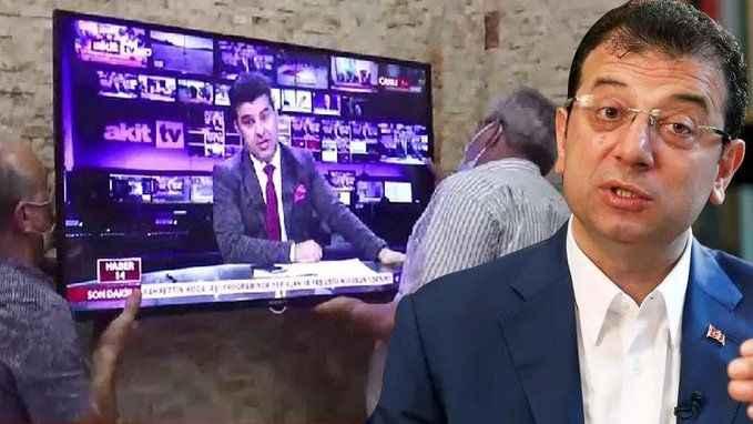 İmamoğlu'ndan hakaret dolayı tazminatını ödemeyen Akit TV'ye haciz