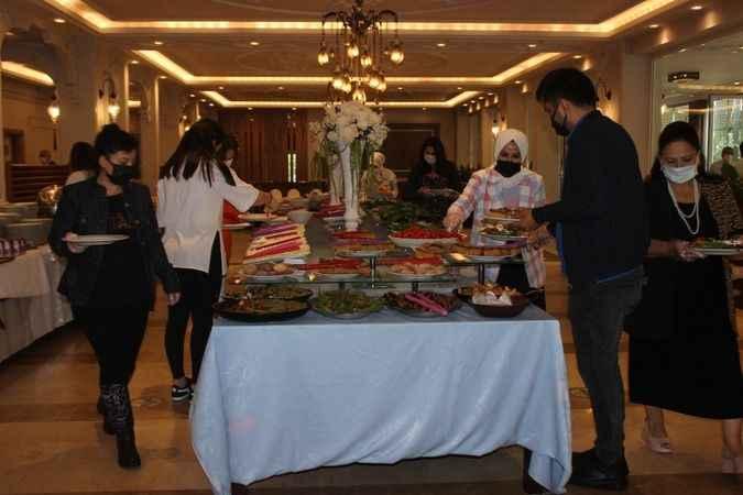 Urfadan Kebapçı'da kahvaltı atmosferi bambaşka