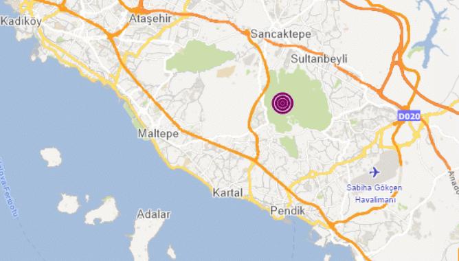 Son dakika: İstanbul ve çevresinde hissedilen bir deprem oldu