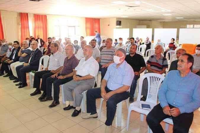 16 ilçede teşkilat toplantısı…