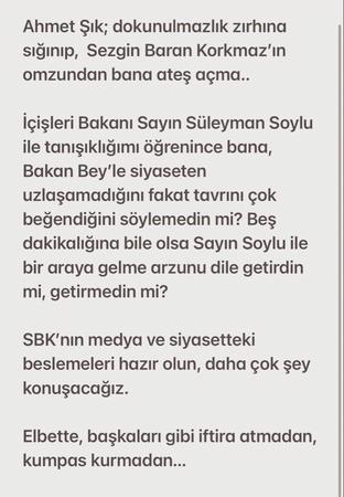 Veyis Ateş ses kaydını yayınlayan Ahmet Şık'a seslendi: Bana ateş açma